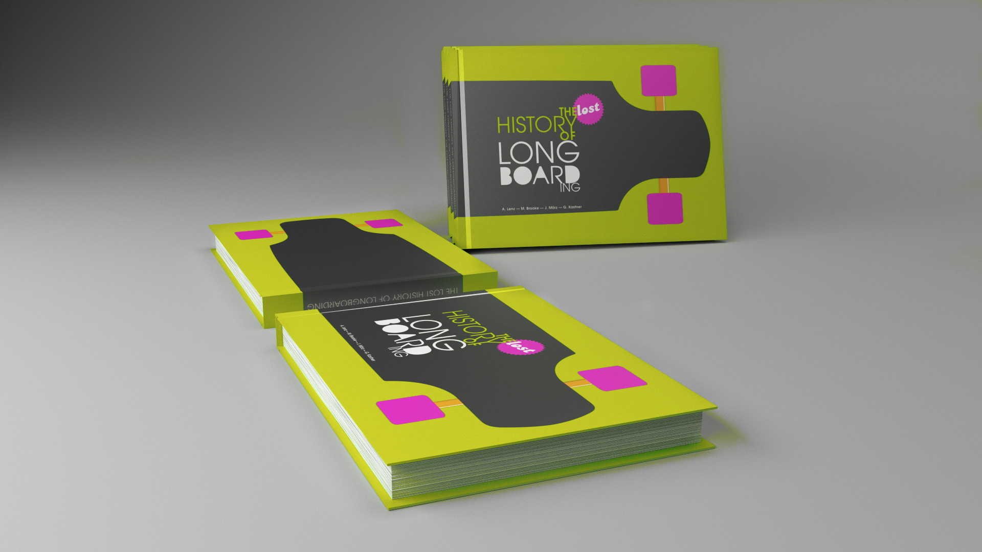 Longboard Book - 3Dpreviz graded